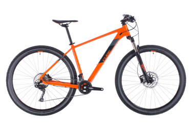 MTB Semi Rígida Cube Attention SL 27.5'' Orange / Noir 2020