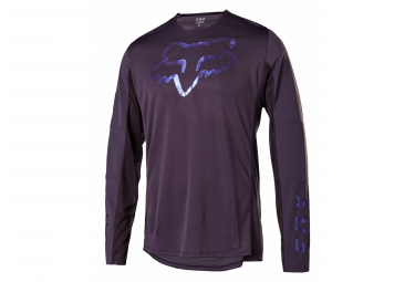 Maglia manica lunga Fox Flexair Delta Edition Limit e Violet