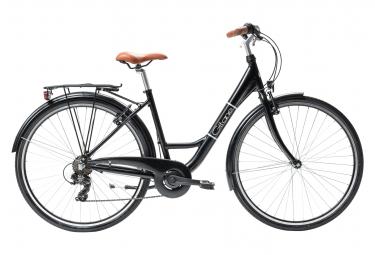 Vélo de Ville Gitane  Salsa City 28 Shimano Tourney 6V Noir / Marron 2020