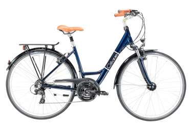 Bicicleta urbana mujer gitane salsa 21s 28   39   39  azul shimano altus 7v 2020 47 cm   161 173 cm