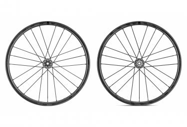 Juego de ruedas fulcrum racing zero carbon cmptzn disc tubeless 12x100 12x142mm centerlock
