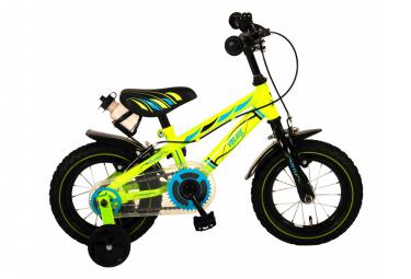 Vélo enfant Volare Electric Green - garçon - 12 po - vert - 2 leviers de frein