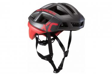 Casco XC Rockrider MTB Rojo