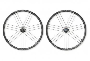 Pair of Campagnolo Zonda Disc Wheels | 9x100 - 10x135mm | Centerlock