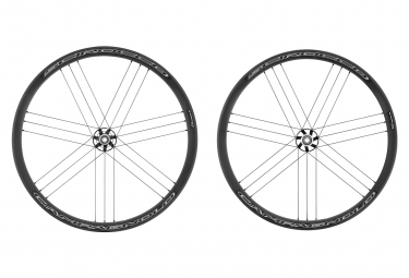 Pair of Campagnolo Scirocco Disc Tubeless Wheels | 9x100 - 9x135mm | Centerlock