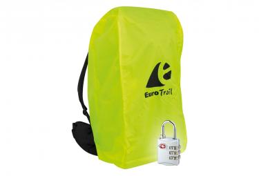 Image of Travelsafe housse a combinaison de sac a dos avec serrure tsa l jaune