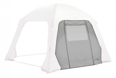 Image of Bo camp paroi laterale avec porte et fenetre de tente air gazebo gris
