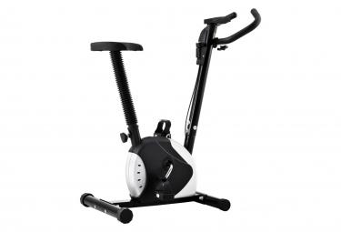 vidaXL Vélo d'appartement avec résistance à courroie Noir