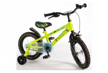 Image of Velo enfant volare electric green garcon 14 po vert neon assemble a 95