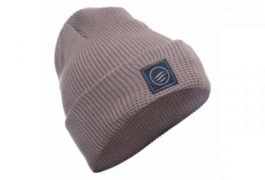 Image of Bonnet united by blue high fold waffle gris