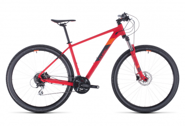 Semi-Rigid Cube Aim Race Shimano 8s 27,5 '' Red 2020