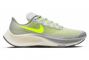 Nike Air Zoom Pegasus 37 Grey Yellow Child