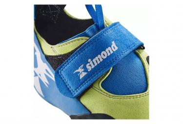 Chaussons d'escalade Simond Edge Slipper Bleu Jaune