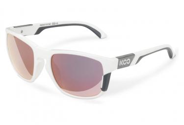 Image of Paire de lunettes koo california blanc gris fonce violet