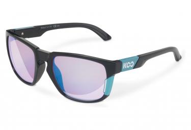 Image of Paire de lunettes koo california noir bleu ciel bleu