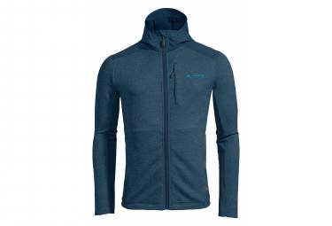 Vaude Croz II Fleece Hooded Navy Blue Man
