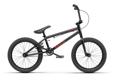 Bicicletas bmx freestyle radio revo 18   negra
