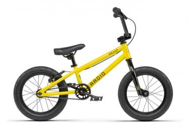 BMX Freestyle Radio Bikes Revo 14'' Yellow Lemon