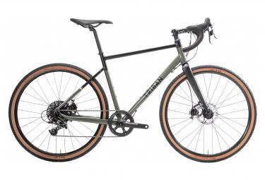 Gravel Bike TRIBAN RC520 LTD2 limited edition Sram Apex 1 Black / Khaki