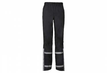Vaude Luminum Rain Pants Black Women