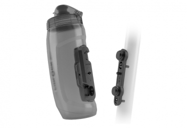 Kit porte-Bidon + Bidon Fidlock Twist 590 ml Noir