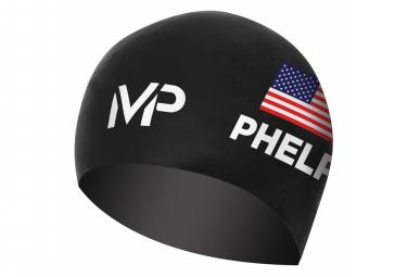 Bonnet de bain course Mickael Phelps Race Cap LTD Edition Noir