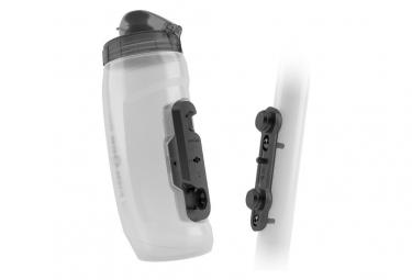 Kit porte-Bidon + Bidon Fidlock Twist 590 ml Transparent