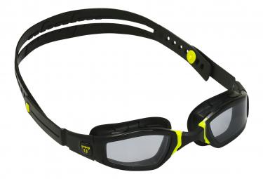 Lunettes de natation michael phelps ninja noir jaune lentilles foncees