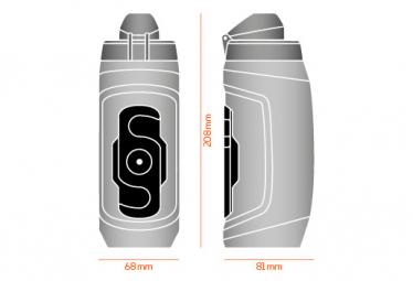 Bidon Fidlock Twist Simple 590ml + connecteur de bouteille noir