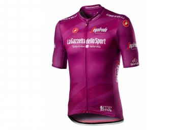 Maillot de manga corta Castelli #Giro103 Competizione Ciclamino Purple Bordeaux
