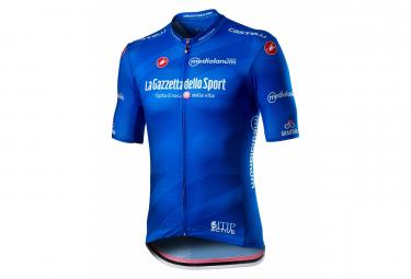 Maillot Castelli #Giro103 Competizione Manga Corta Azul Azzurro