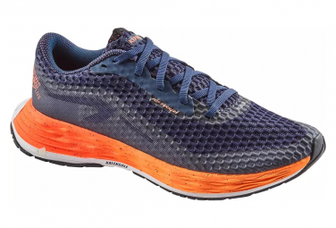 Zapatillas de running kiprun kd plus dark blue orange para mujer 41