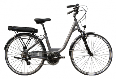 Bicicleta Ciudad Mujer Granville Smooth 50 Promovec Lady Gris