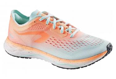 Kiprun kd light orange green zapatillas de running para mujer 41