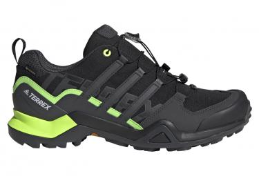 Adidas Terrex Swift R2 GTX Trail Schuhe Schwarz Grün