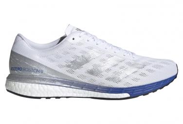 Chaussures de Running adidas running adizero Boston 9 Argent / Bleu