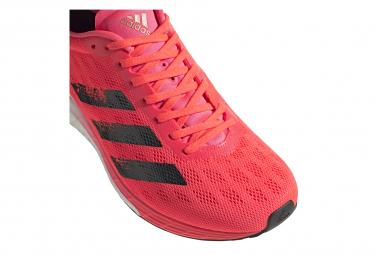 Chaussures de Running Femme adidas running adizero Boston 9 Rose ...