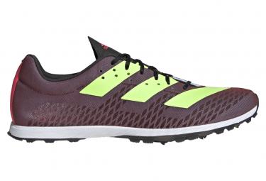 Zapatillas adidas running adizero XC Sprint para Hombre Púrpura / Verde