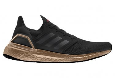 Adidas Ultraboost 20 Laufschuhe aus schwarzer Bronze