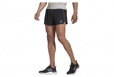 Short Split Adidas Saturday Run Negro S