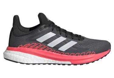 Zapatillas Running Adidas Solar Glide St 3 Mujer Gris Rosa 41 1 3