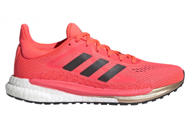 Chaussures de Running Femme adidas running Solar Glide 3 Orange / Blanc
