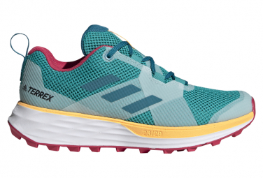 Zapatillas adidas running Terrex Two para Mujer Verde / Rosa
