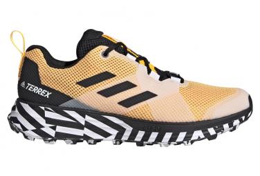 Adidas Terrex Zwei gelb schwarze Trail Schuhe