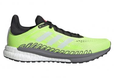 Zapatillas adidas running Solar Glide 3 para Hombre Verde / Negro