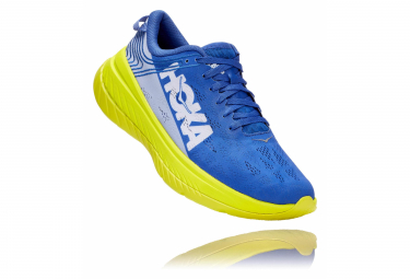 Chaussures de Running Hoka One One Carbon X Jaune / Bleu / Jaune