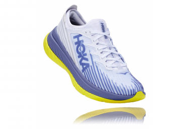 Chaussures de Running Hoka One One Carbon X-Spé Blanc / Bleu