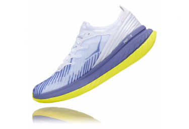Hoka Carbon X-Sp Blanco Azul Amarillo Unisex