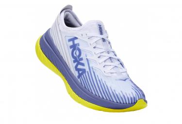 Hoka Carbon X Sp Blanco Azul Amarillo Unisex 40