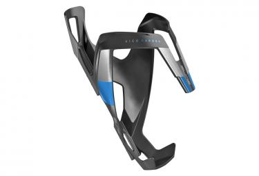 Porte-Bidon Elite Vico Carbon Noir Bleu